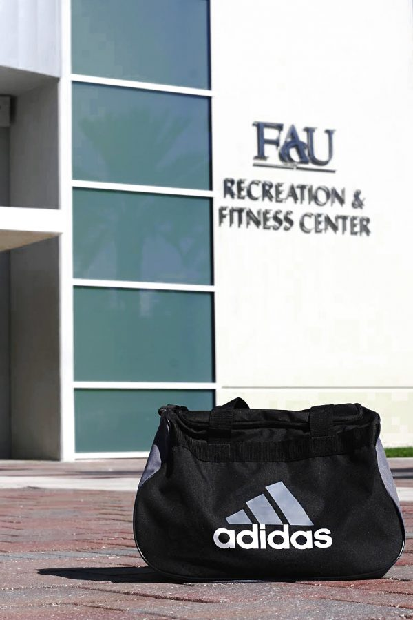 In addition to the new gym hours, the Recreation and Fitness Center now enforces a no-gym-bag policy inside workout areas. Kaylyn Koutz and Kaylalea Mendez | Contributing Photographers