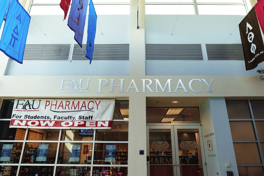 The student pharmacy where adderall is distributed with a prescription, located in the Student Union. Patrick Delaney | Photo Editor