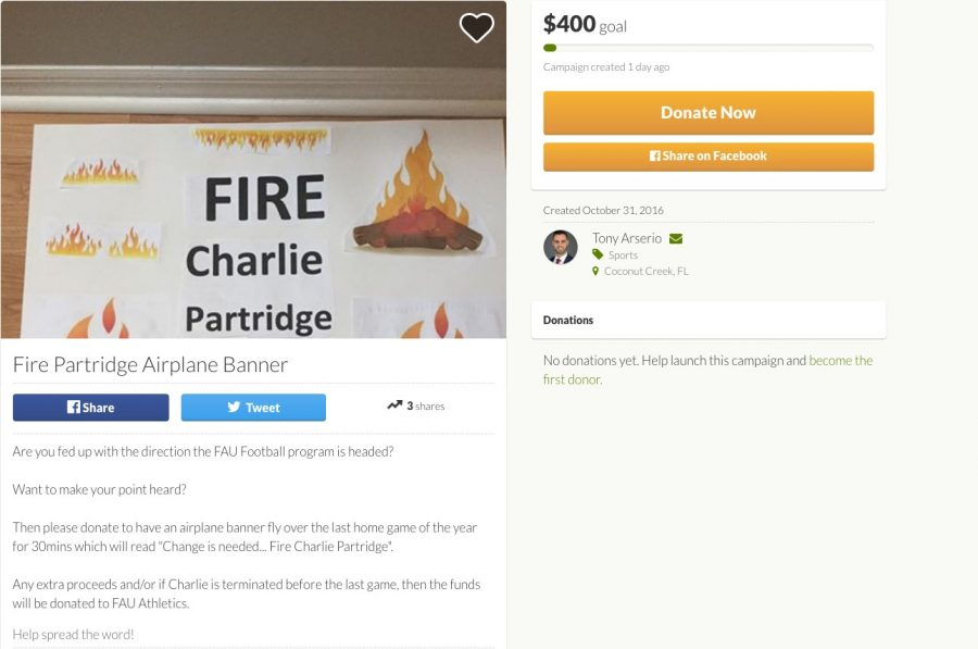 Snapshot courtesy of gofundme.