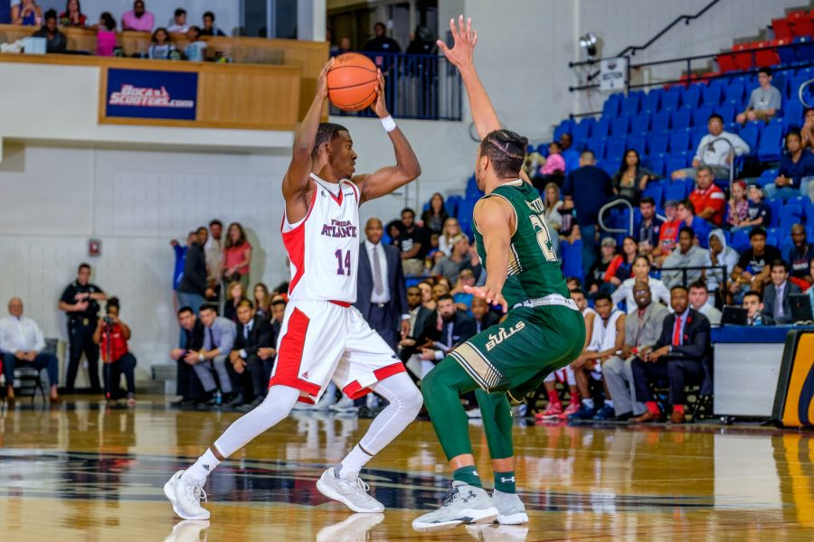 Junior Gerdarius Troutman scored a team-high 22 points in the Owls loss at UTEP on Saturday night. Photo by Mohammed F. Emran