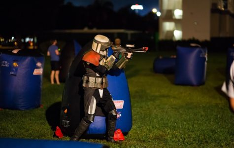 Star Wars fans come together for an evening of activities