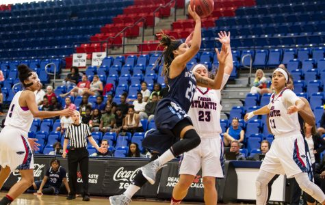 Senior Jennie Simms scored 41 points for Old Dominion in its victory at FAU on Saturday. Alexander Rodriguez | Contributing Photographer