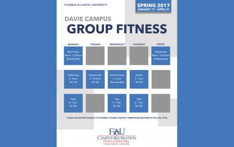 Photo courtesy of the Davie department of Campus Recreation.
