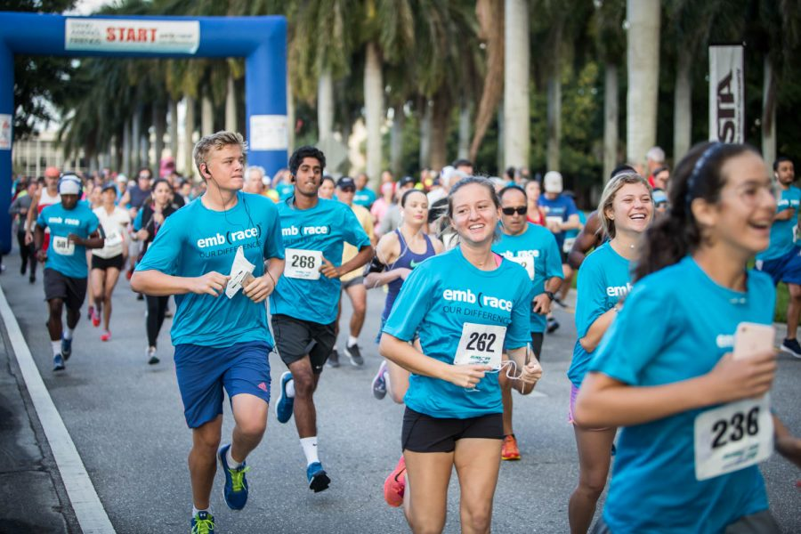 Hundreds of participants came out to the Stand Among Friends seventh annual emb(race) event. Alexander Rodriguez | Contributing Photographer