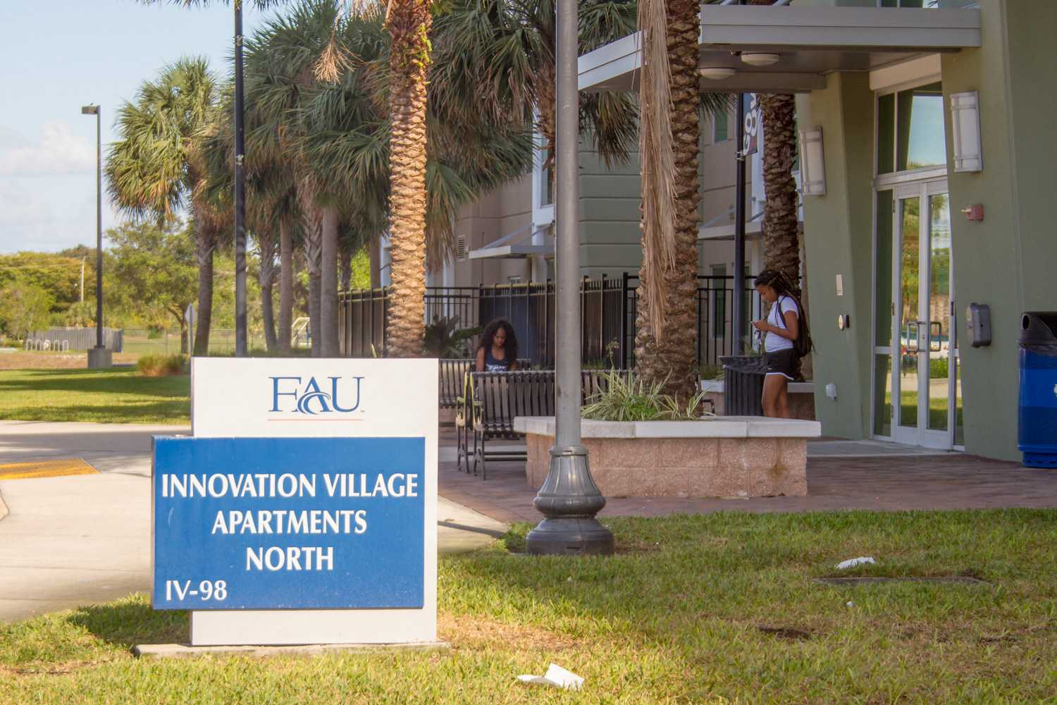 IVAN's North entrance will be closed during the FAU Gala Saturday due to a fireworks show in the parking lot next to the building. Ryan Lynch | Editor in Chief