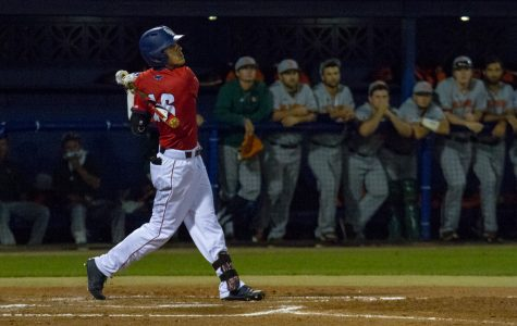 Baseball: Owls score 31 runs over weekend, win 2-of-3 over Illinois