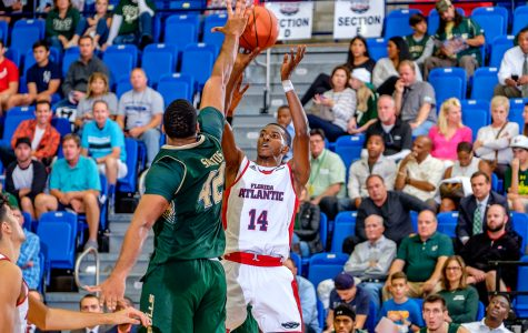 Men's basketball: Gerdarius Troutman, FAU's three-point marksman