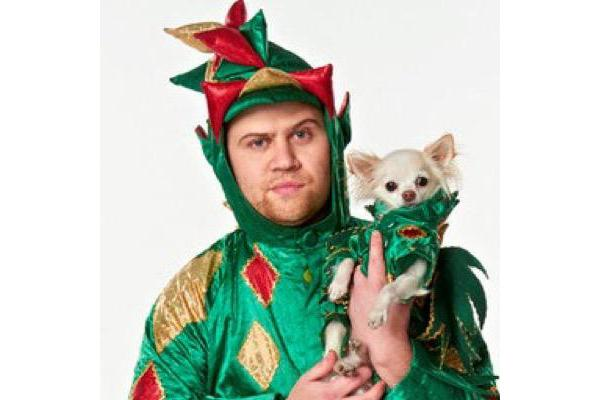 Photo courtesy of Piff the Magic Dragon's Twitter page.