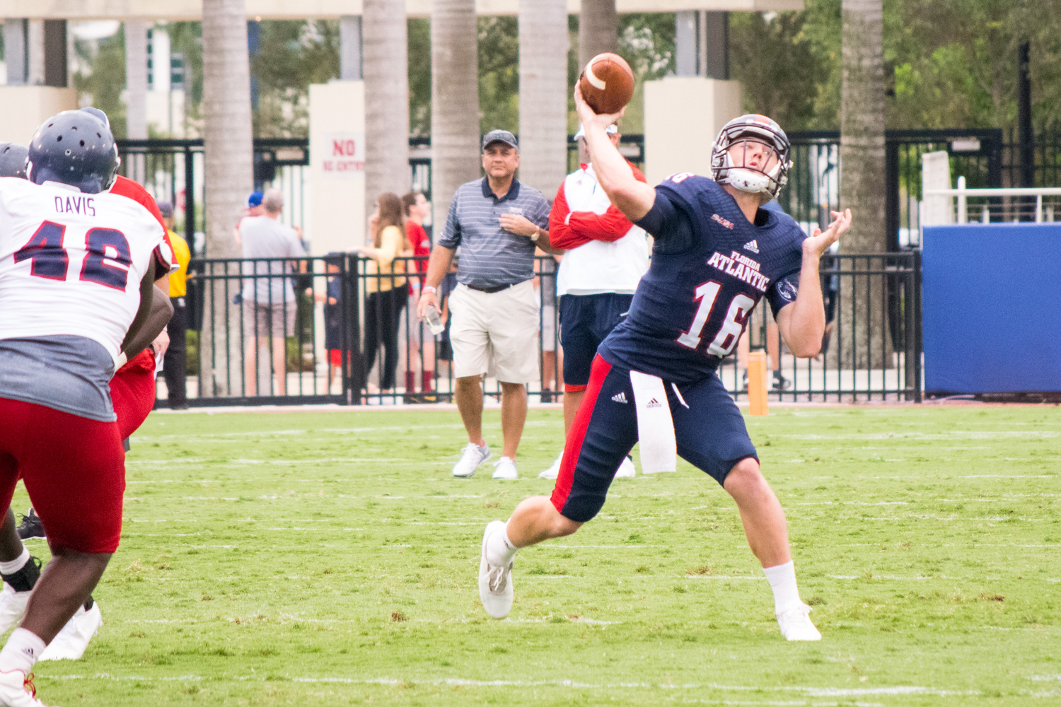 Redshirt junior Jason Driskel threw two touchdowns in the Owls spring game. Ryan Lynch | Editor in Chief