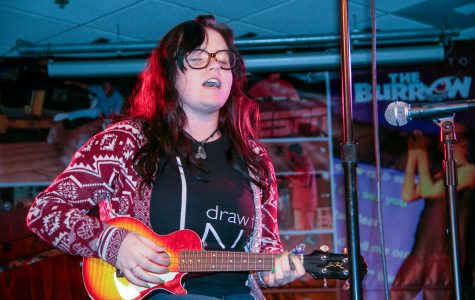 Kristyn Spatz expressed the loss of her boyfriend to suicide through her live performance. Thomas Chiles | Contributing Photographer