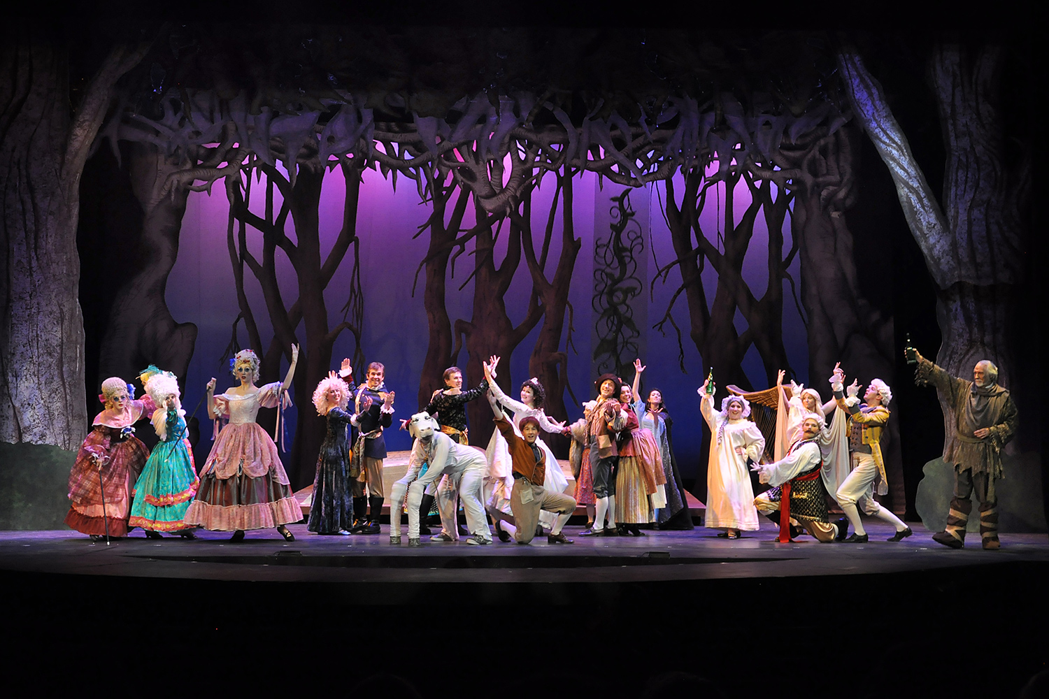 Into the Woods is an  award-winning Broadway musical from Stephen Sondheim. Photo courtesy of Cathy Kuehner