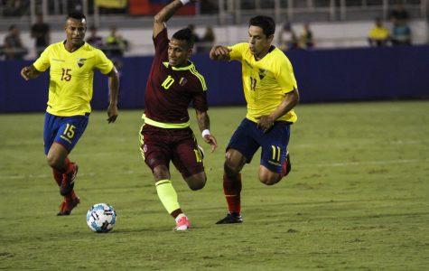 Gallery: Venezuela versus Ecuador