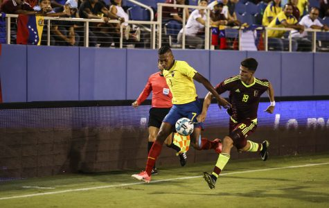 International Soccer: Venezuela and Ecuador play to a tie at FAU Stadium