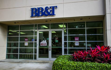 BB&T closes branch on campus