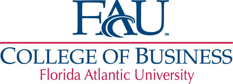 FAU College of Business logo. Courtesy of PR Newswire.