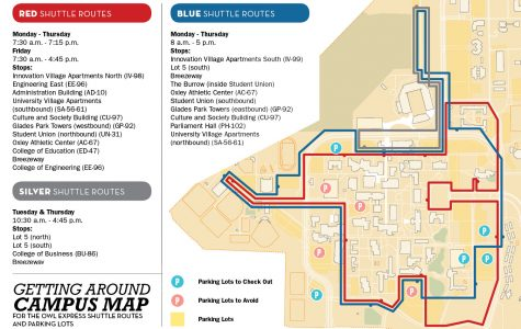 A guide to getting around FAU's campuses