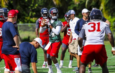 FAU quarterback De'Andre Johnson hospitalized