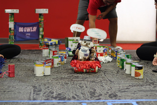 ExtravaCANza sees New Orleans-themed canned good sculptures