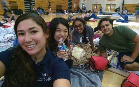 Students Take Shelter