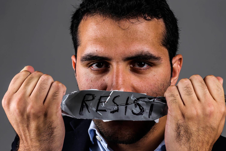 Student political activist Jorge Jraissati. Alexander Rodriguez | Photo Editor