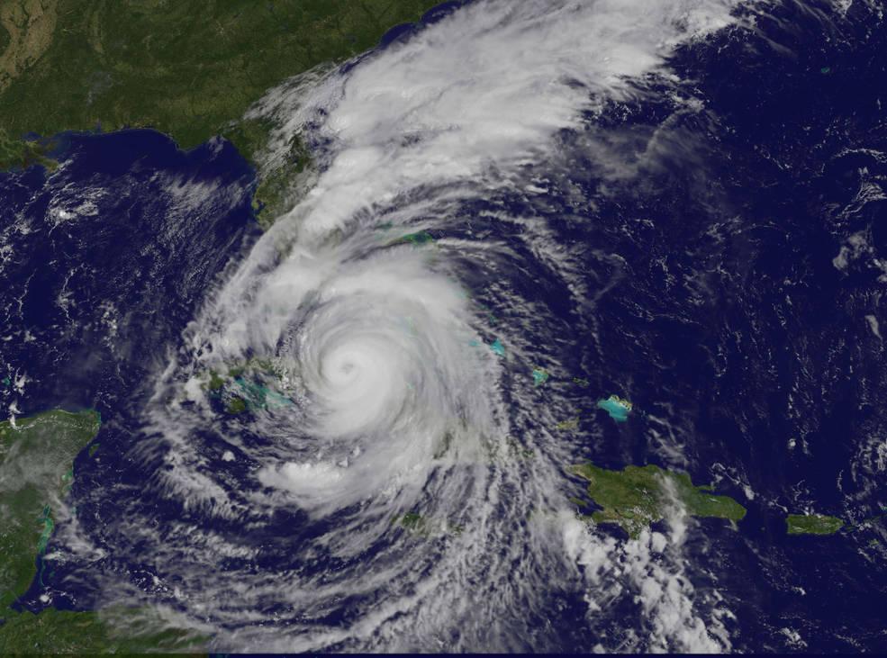 Irma+as+it+makes+landfall+over+Florida.+Photo+courtesy+of+Wikimedia+Commons