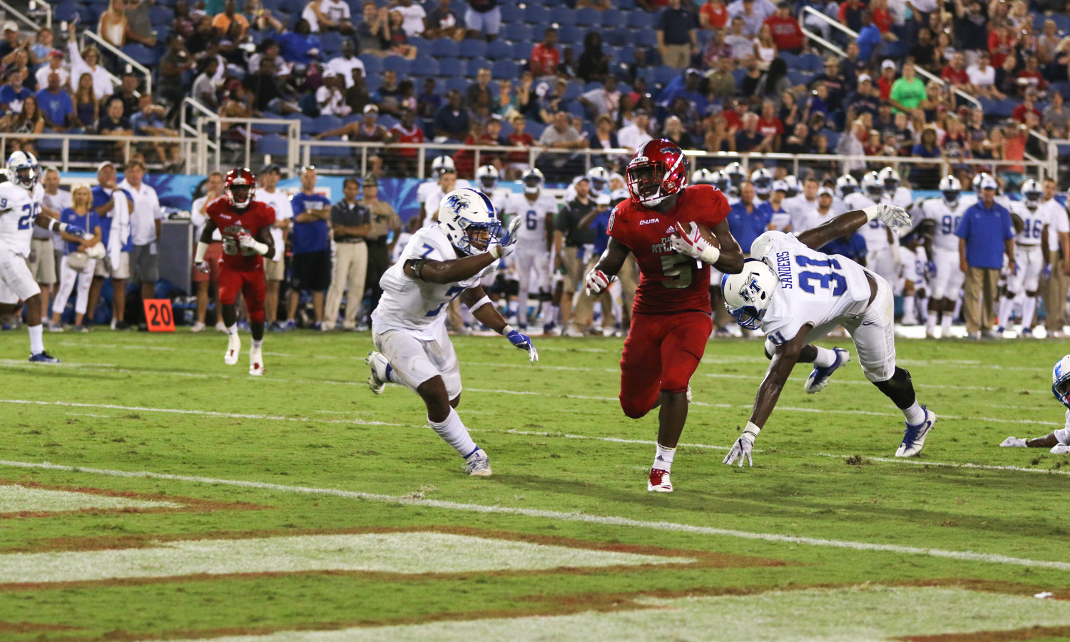 FAU runs away from WKU in the fourth quarter