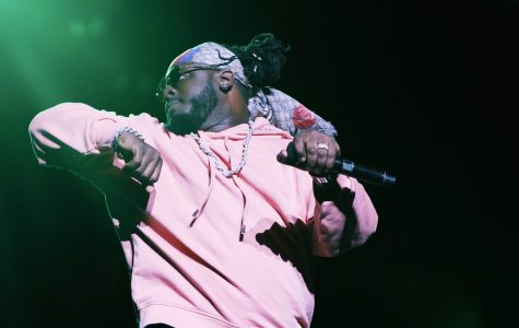 Headliner T-Pain took the Student Union auditorium stage at 10 p.m. Joshua Giron | Staff Photographer
