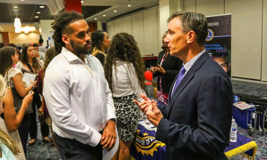 Gallery: FAU Career Center hosts Athletic Career Fair