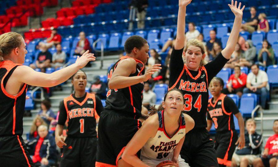 Gallery: FAU Womens Basketball Versus Mercer