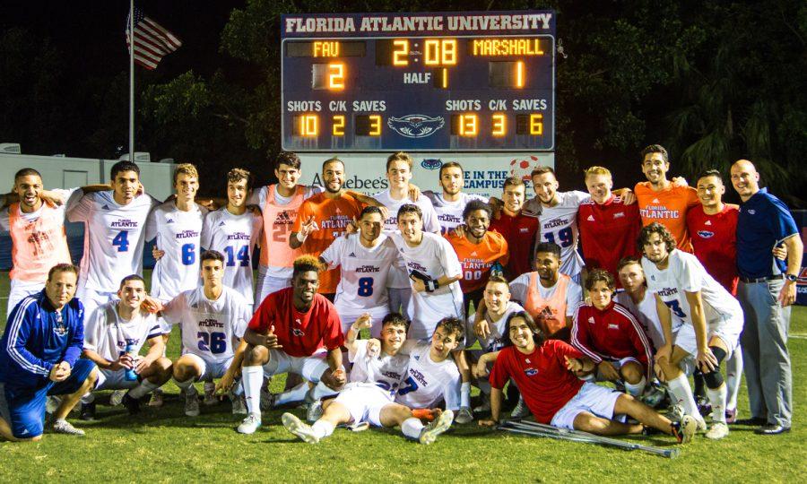 Gallery: FAU Mens Soccer Versus Marshall