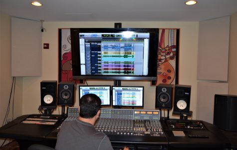 How FAU's recording studio works
