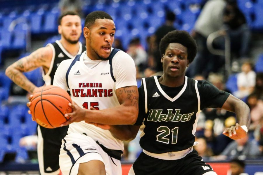 Gallery: FAU Men's Basketball Versus Webber International