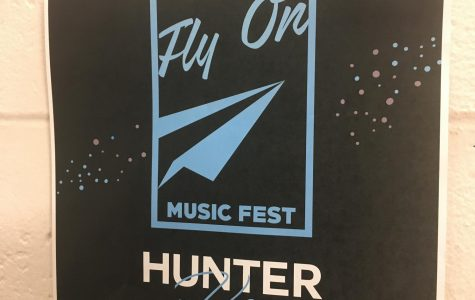Program Board put flyers all around campus with the announced line-up for Fly On Music Fest. | Alexander Rodriguez