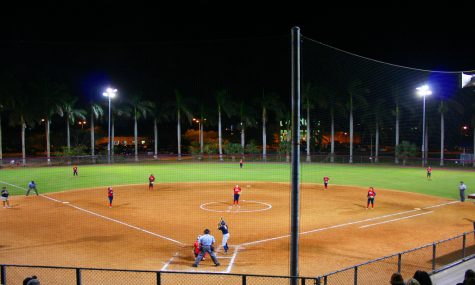 FAU played a fall scrimmage game against Keiser University on Oct. 28. FAU went on to win against Keiser 9-2.