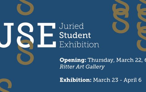 Ritter Art Gallery hosts a new selection of student artwork