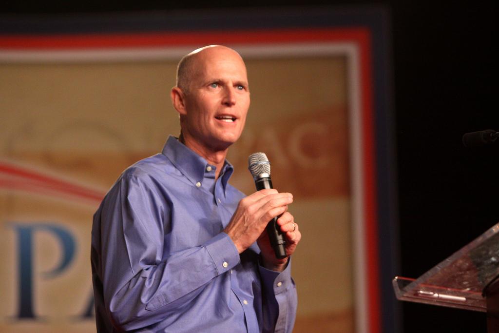 Gov. Rick Scott. Photo courtesy of Gage Skidmore on Flickr.