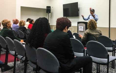 College of Arts and Letters guest speaker gives advice to aspiring writers