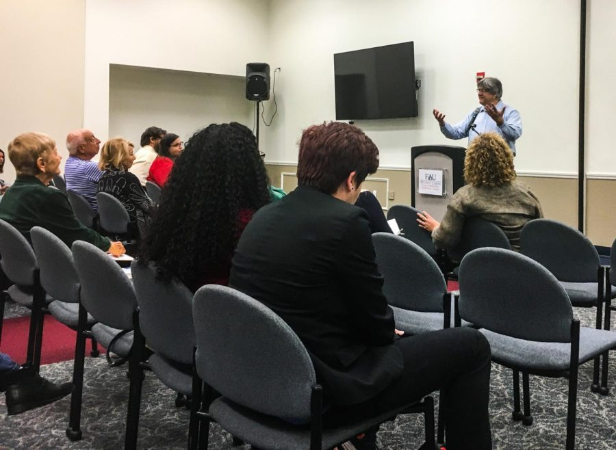 Jeff Ourvan came to speak at FAU to give tips to students. Kristen Grau | Contributing Writer