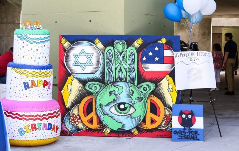 Owls for Israel celebrates the country's 70th birthday