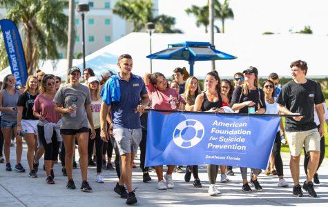 Suicide prevention organization hosts third annual walk