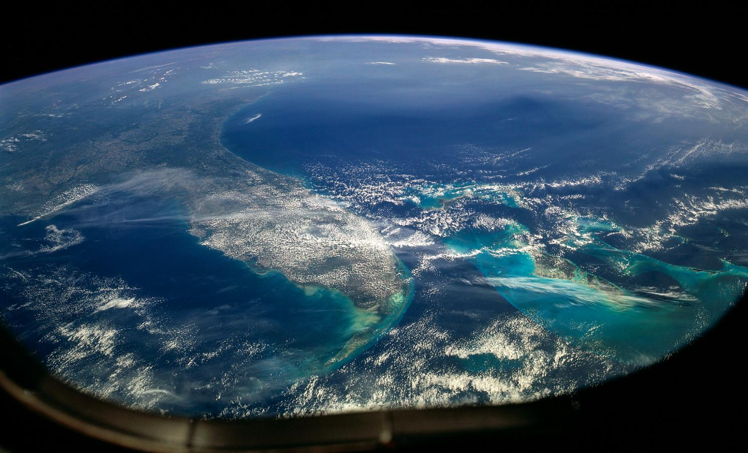 A view of Florida from space. Photo courtesy of Wikimedia Commons