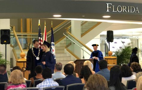 Rescheduled ceremony sees out-of-state, international students graduate