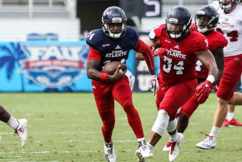 Football: Owls win fifth straight 30-25 over Marshall
