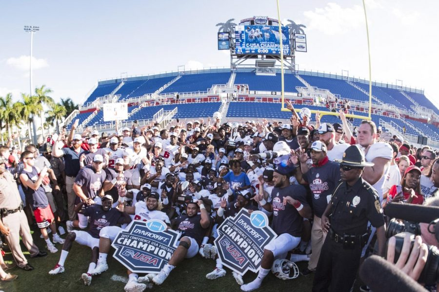 FAU+rode+a+10-game+win+streak+into+its+first+ever+Conference+USA+championship+last+season.+Photo+courtesy+of+FAU+Media+Relations