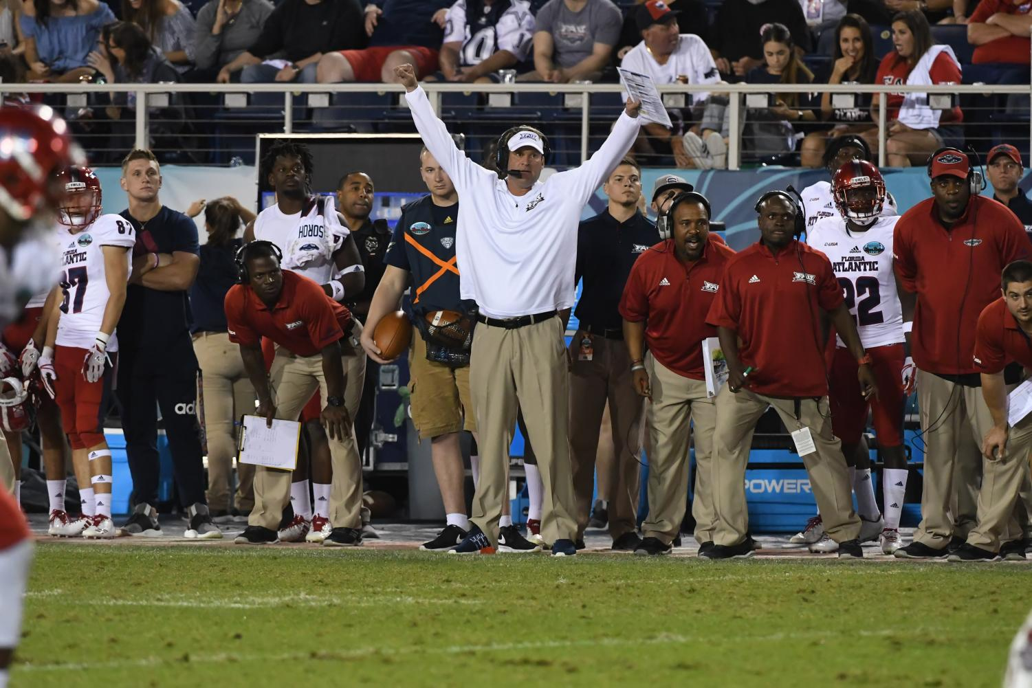 FAU's chase to repeat last season's dominance begins Sept. 1 at Oklahoma. Photo courtesy of FAU Media Relations