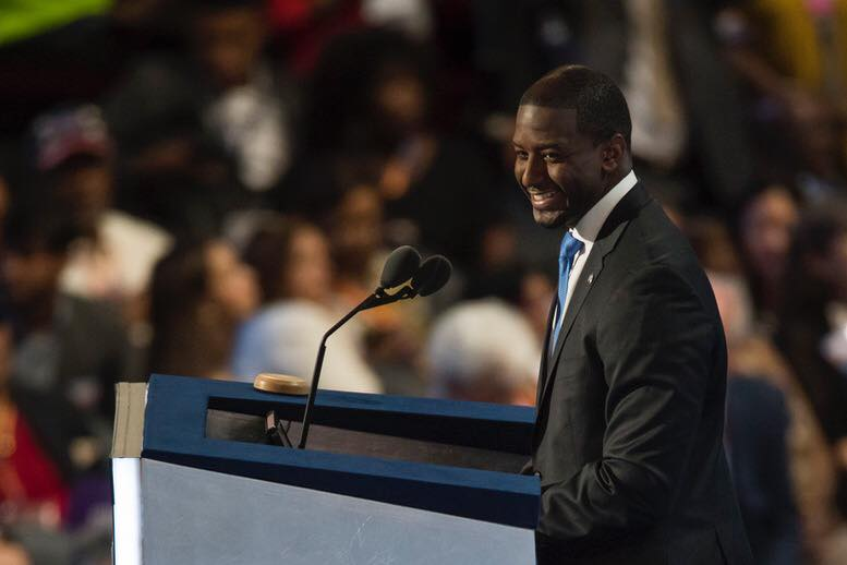 Tallahassee Mayor Andrew Gillum gained an edge over his opponent, Ron DeSantis in the Florida governor race, at least according to an FAU poll. Photo courtesy of Facebook