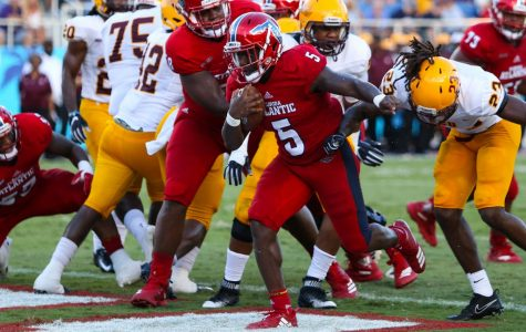 Football: FAU dominates Bethune-Cookman 49-28 for second straight win