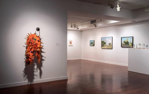 The Consortium was last hosted at FAU in 2015, and its pieces could be sculptures, paintings, or any other form of art, as seen above. Photo courtesy of FAU Galleries Facebook page