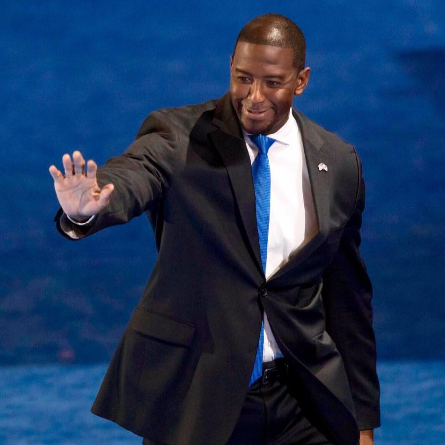 The College of Business said that young voters could help decide the race between Tallahassee Mayor Andrew Gillum and former U.S. Rep. Ron DeSantis. Photo courtesy of Andrew Gillum's Facebook
