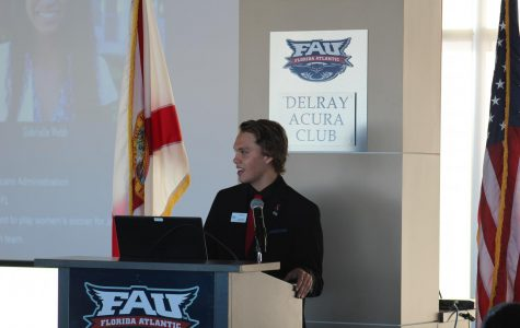 FAU Boca governor discusses recent campus, Student Government accomplishments